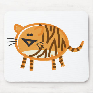 Funny Tiger Mouse Pad