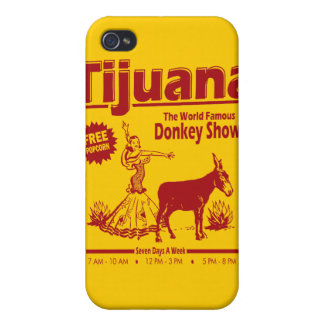 Funny Tijuana Donkey Show iPhone 4 Case