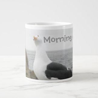 Funny Tilt Head Seagull Large Coffee Mug