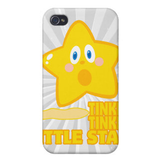funny tinkle tinkle little star cover for iPhone 4