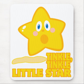 funny tinkle tinkle little star mousepads
