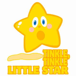 funny tinkle tinkle little star photo cut out