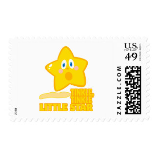 funny tinkle tinkle little star postage stamps
