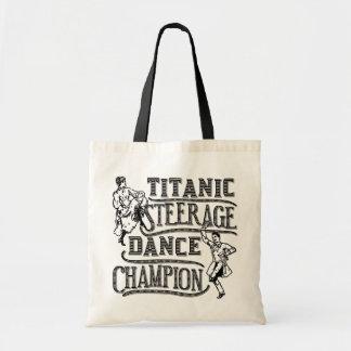 Funny Titanic Steerage Dance Champion Bags