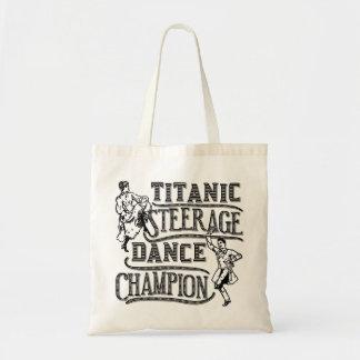 Funny Titanic Steerage Dance Champion Tote Bag