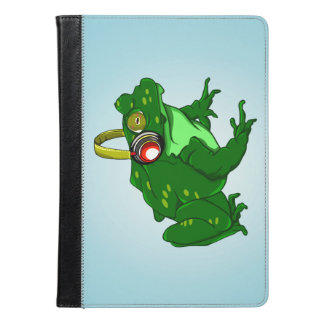 Funny Toad Listening to Music iPad Air Case