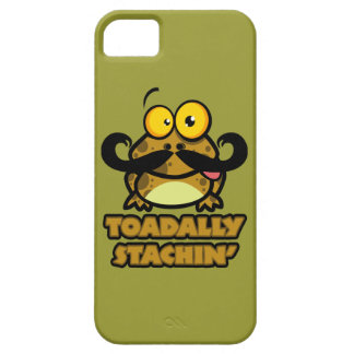 funny toadally stachin toad with a mustache iPhone 5 covers