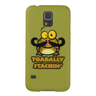 funny toadally stachin toad with a mustache samsung galaxy nexus case