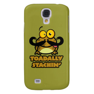 funny toadally stachin toad with a mustache HTC vivid cover