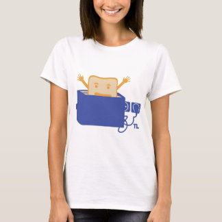 funny toaster icon T-Shirt