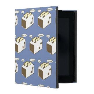 Funny toaster pun iPad cover