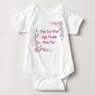 Funny Toddler Onsie / T Shirt Flowers