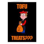 Funny Tofu Halloween Cards