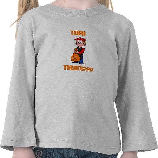 Funny Tofu Treats Halloween T-shirt