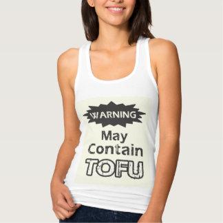 Funny Tofu Womens Slim Fit Racerback Tank Top