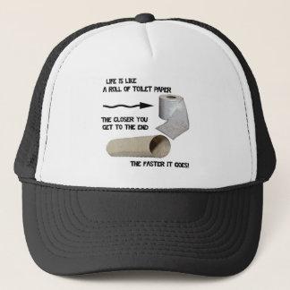 Funny Toilet Paper Trucker Hat