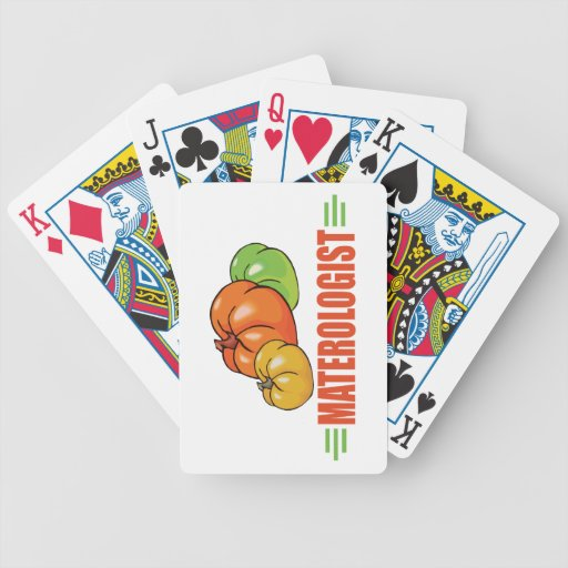 Funny Tomato Deck Of Cards