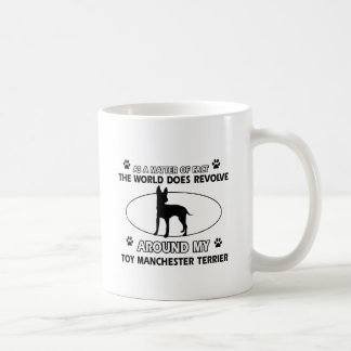 Funny toy manchester terrier designs classic white coffee mug