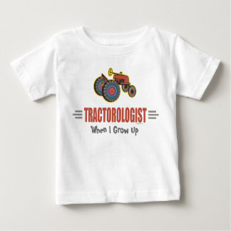 Funny Tractor Baby T-Shirt