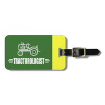 Funny Tractor Bag Tag