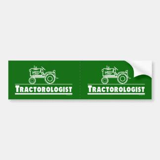 Funny Tractor Bumper Sticker
