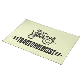 Funny Tractor Cloth Placemat