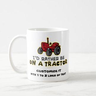 Funny Tractor Coffee Mug