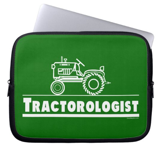 Funny Tractor Laptop Sleeve