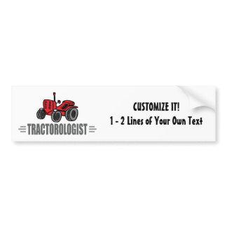 Funny Tractor Love Bumper Sticker