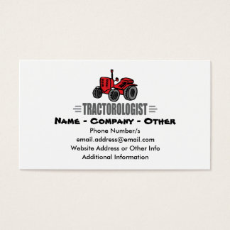 Funny Tractor Love Business Card