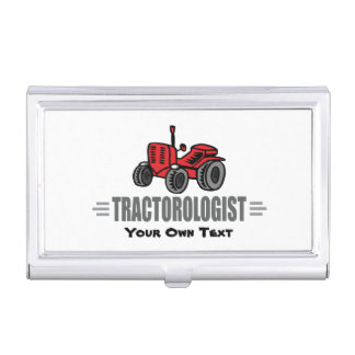 Funny Tractor Love Business Card Holder