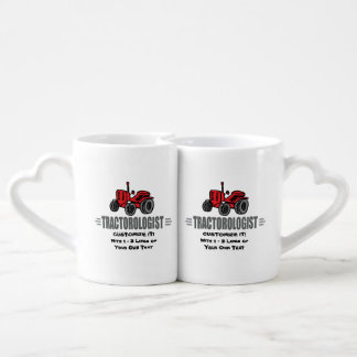 Funny Tractor Love Coffee Mug Set