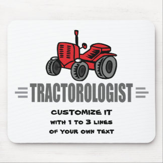 Funny Tractor Love Mouse Pad
