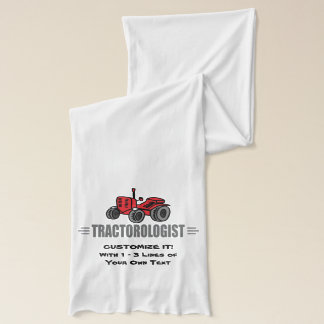 Funny Tractor Love Scarf