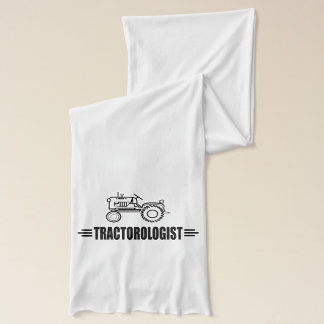 Funny Tractor Lover Scarf