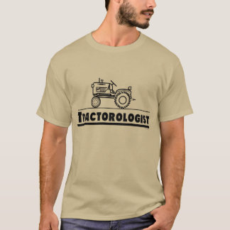 Funny Tractor Lover Tractorologist T-Shirt