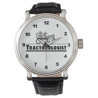 Funny Tractor Lover Wrist Watch