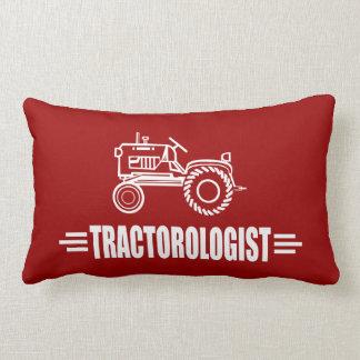 Funny Tractor Lumbar Pillow