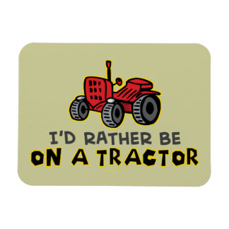 Funny Tractor Magnet
