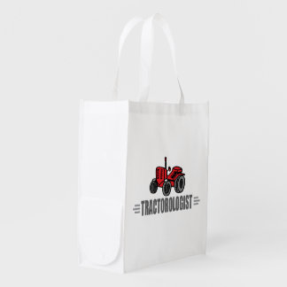 Funny Tractor Market Tote