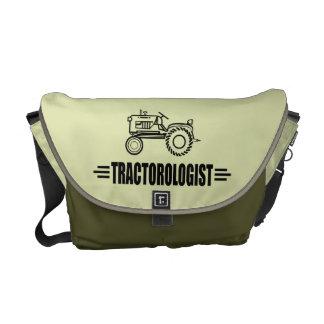Funny Tractor Messenger Bag