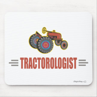 Funny Tractor Mouse Pad