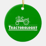 Funny Tractor Ornaments