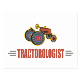 Funny Tractor Post Cards