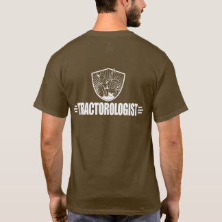 Funny Tractor Pull Racing Antique Tractorologist T-Shirt