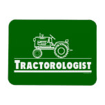 Funny Tractor Rectangular Photo Magnet