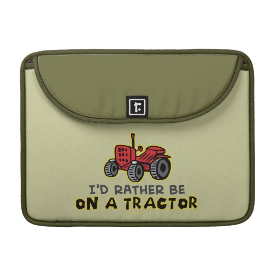 Funny Tractor Sleeve For MacBooks