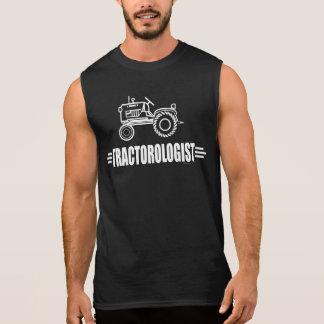 Funny Tractor Sleeveless Shirt