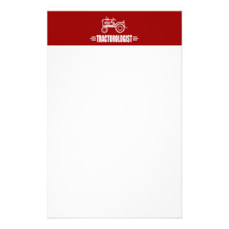 Funny Tractor Stationery
