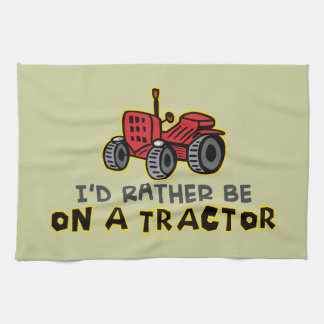 Funny Tractor Towels